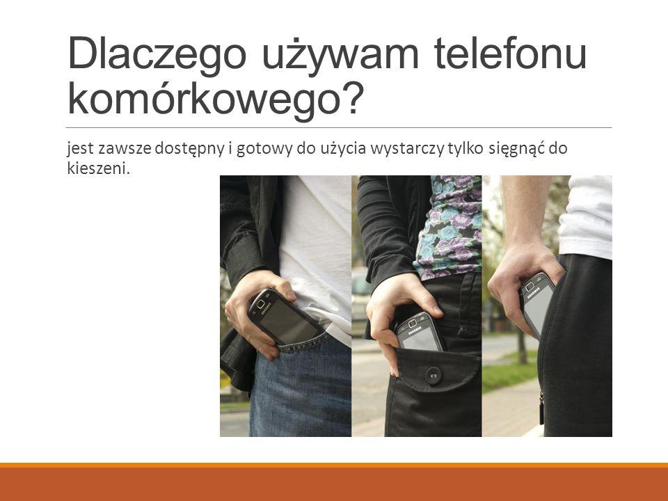 Telefon komórkowy- źródło rozrywki czy forma kontaktu.