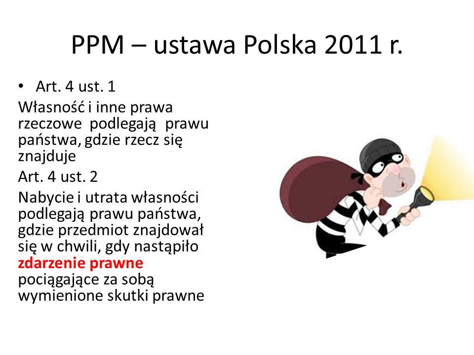 PPM – ustawa Polska 2011 r.Art. 4 ust.