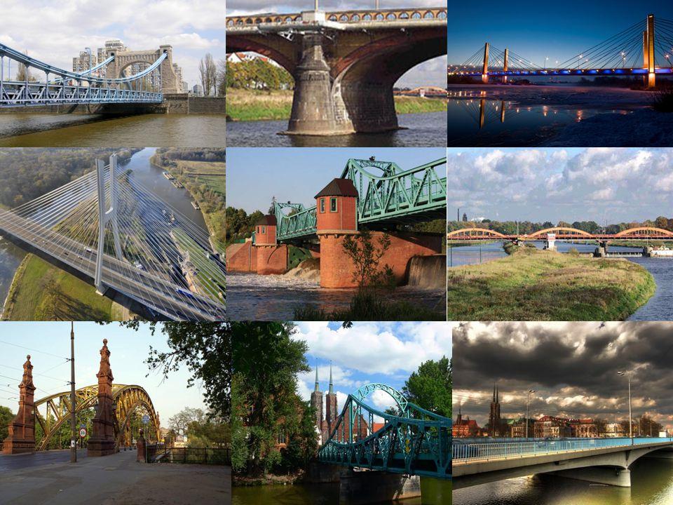 Most Szczytnicki 82,50 m Günther Trauer przebudowa w latach 1933-1934 Pierwszy drewniany 1790 Murowany 1888-1889 Most Książęcy Tak wyglądałem w latach 30 XX x