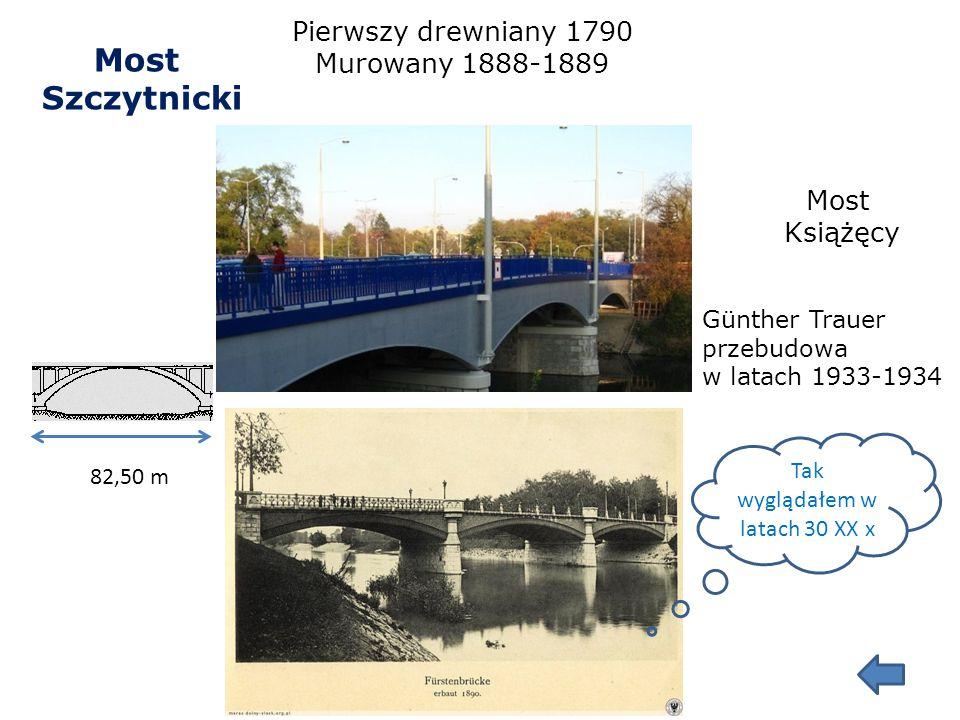 Most Rędziński 612 m Jan Biliszczuk 2008 – 2011 Ciekawostki: -najwyższa konstrukcja w Polsce -żelbetowa konstrukcja zawieszona za pomocą 160 want o łą