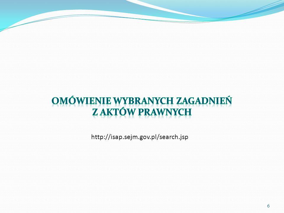 6 http://isap.sejm.gov.pl/search.jsp