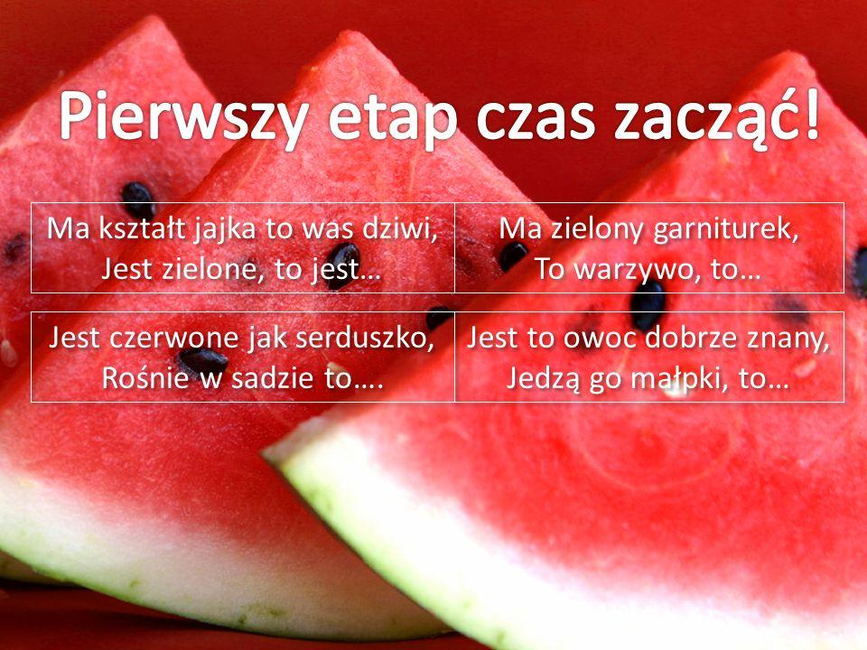 Jest czerwone jak serduszko, Rośnie w sadzie to…. Jest czerwone jak serduszko, Rośnie w sadzie to….