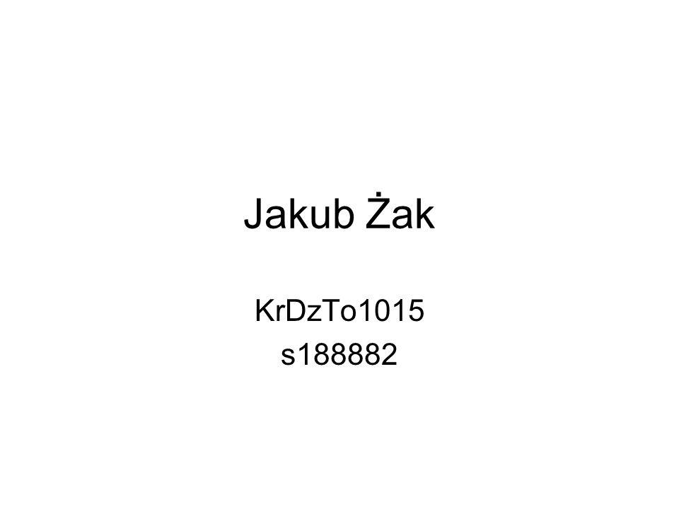 Jakub Żak KrDzTo1015 s188882