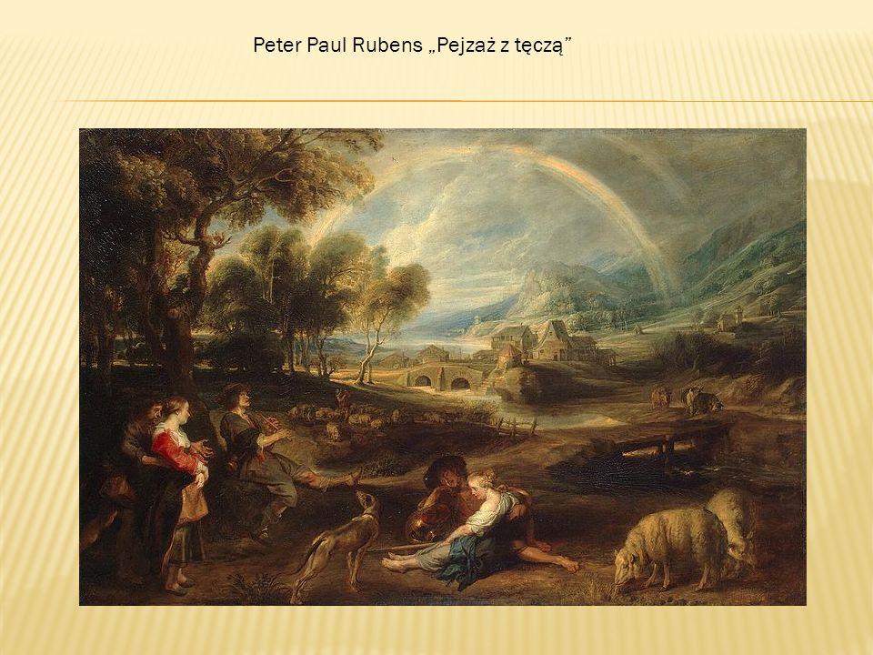 "Peter Paul Rubens ""Pejzaż z tęczą"