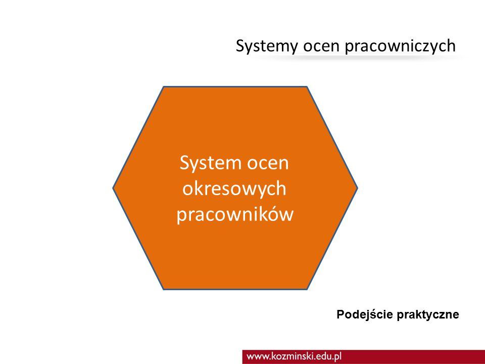 Systemy ocen pracowniczych podstawowe narzędzie zzl w organizacji pozwalające na monitorowanie i kontrolowanie pracy (m.in.