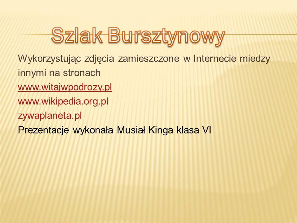 Wykorzystując zdjęcia zamieszczone w Internecie miedzy innymi na stronach www.witajwpodrozy.pl www.wikipedia.org.pl zywaplaneta.pl Prezentacje wykonał