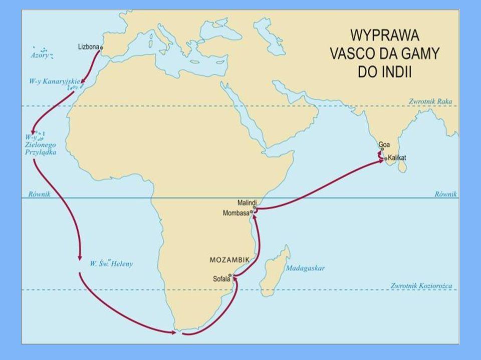 Vasco da Gama urodził się w 1460 roku w Portugalii.