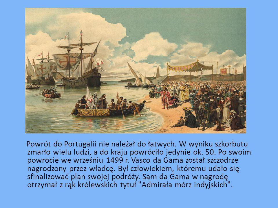 Powrót do Portugalii nie należał do łatwych.