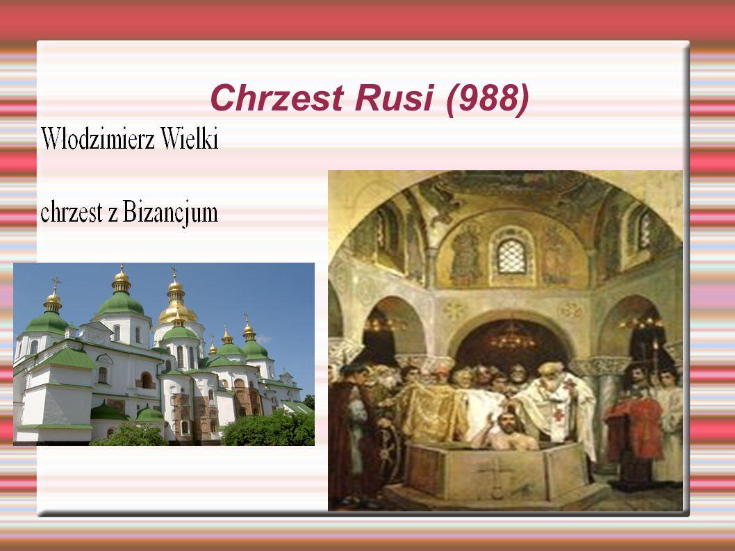 Najazd Tatarów XIII-XIV w.  Upadek Kijowa  Dwieście lat okupacji  Narodziny Moskwy (jarłyk)