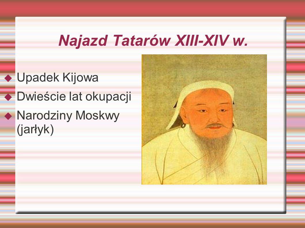 Podbój Rusi przez Litwę XIV-XV w.