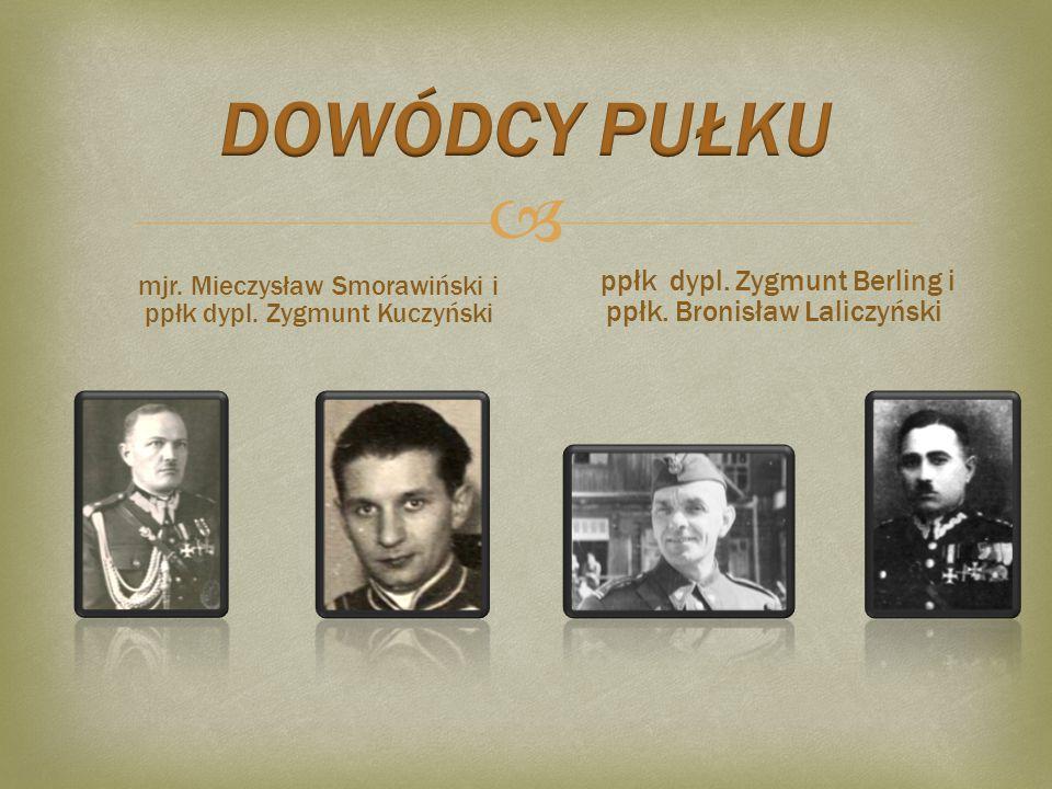  ppłk. Bolesław Roja i ppłk. Juliusz Zulauf kpt. Florian Smykal i ppłk. Stefan Jażdżyński