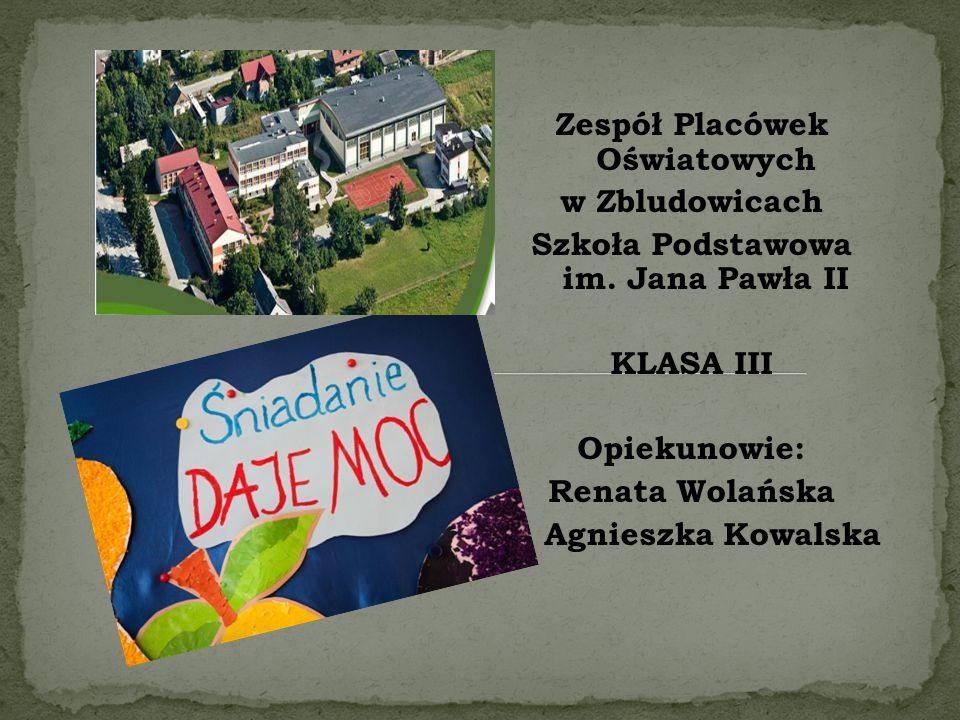 Zespół Placówek Oświatowych w Zbludowicach Szkoła Podstawowa im.