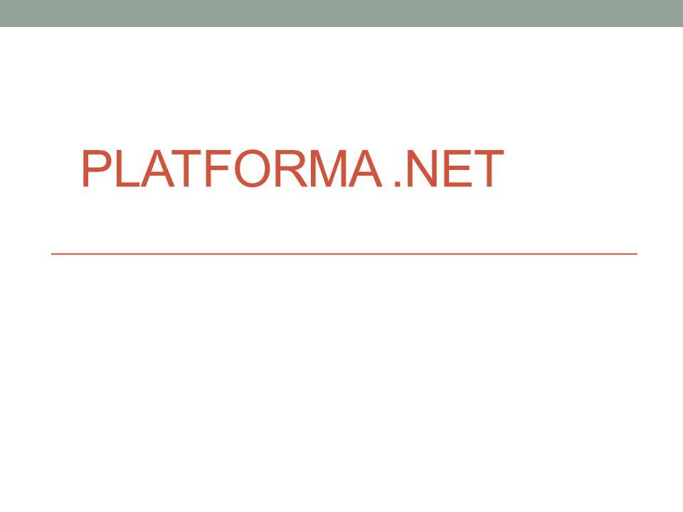 Co to jest platforma.NET?.NET Framework to kompletnie nowy model budowania systemów w rodzinie systemów operacyjnych Windows, Mac Os X i dystrybucjach Uniksa/Linuksa (od Visual Studio 2015) Platforma ta nie jest związania tylko z jednym językiem programowania, pozwala na pisanie programów w wielu różnych językach (np.