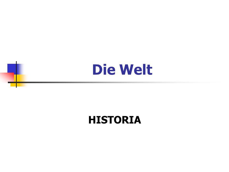 Die Welt HISTORIA