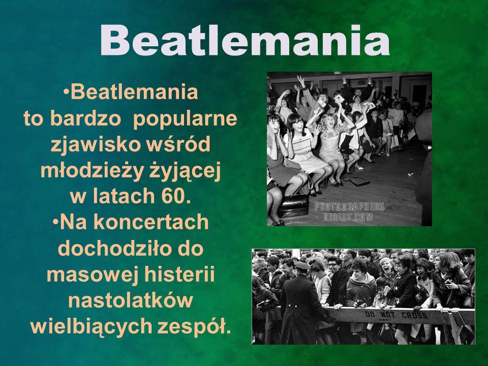 """Charakterystyka The Beatles s ą bardzo znani z ich stylu: garniturów i fryzur """"a la Beatlesi ."""