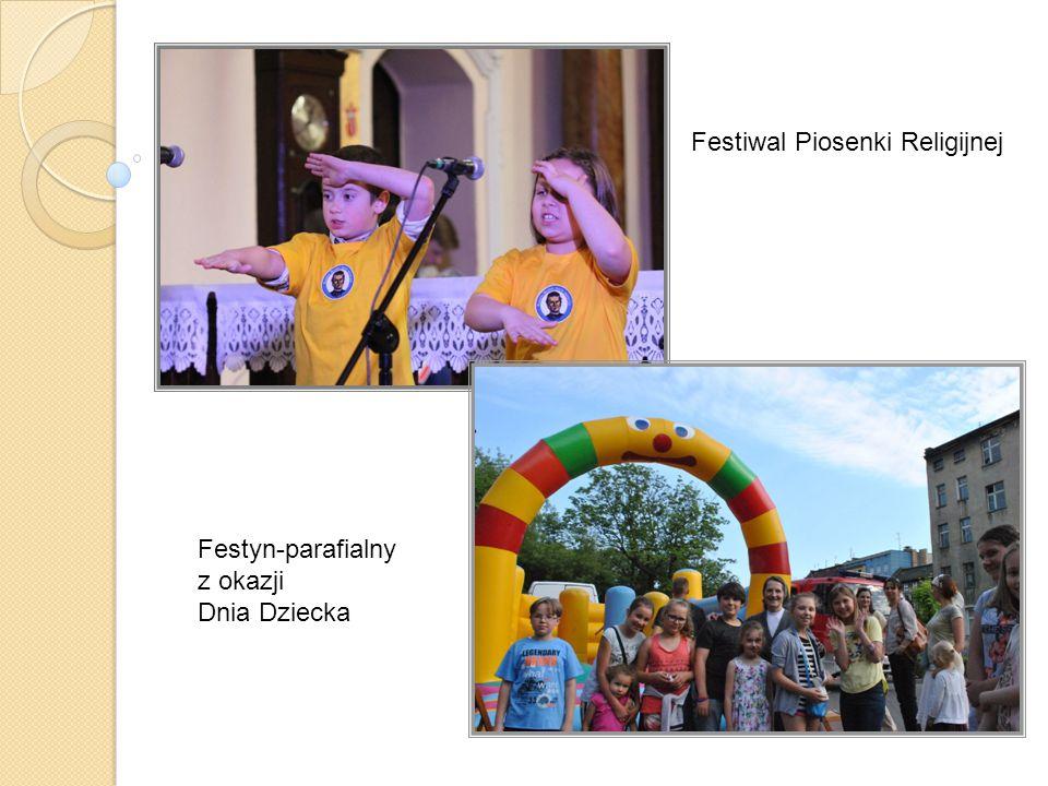 Festiwal Piosenki Religijnej Festyn-parafialny z okazji Dnia Dziecka