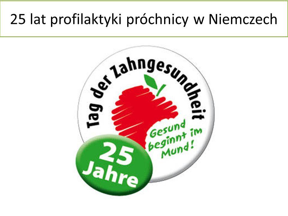25 lat profilaktyki próchnicy w Niemczech