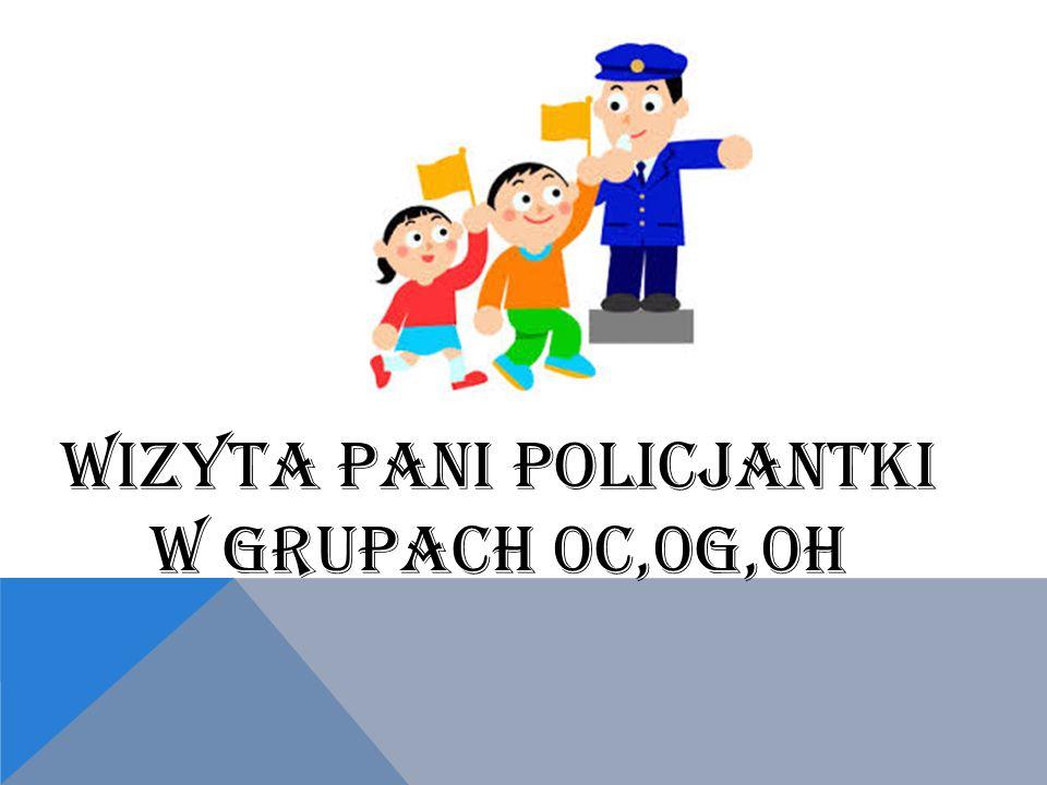 WIZYTA PANI POLICJANTKI W GRUPACH 0C,0G,0H