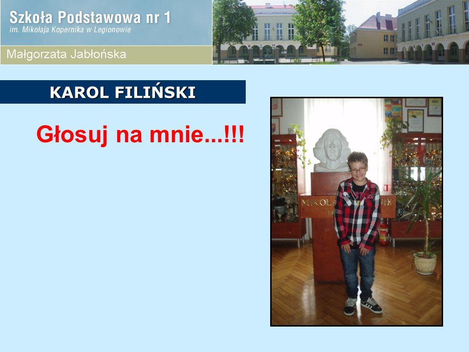 KANDYDACI Z KLASY 5D  Magda Bebłacz  Justyna Grochowska  Jan Litwiński