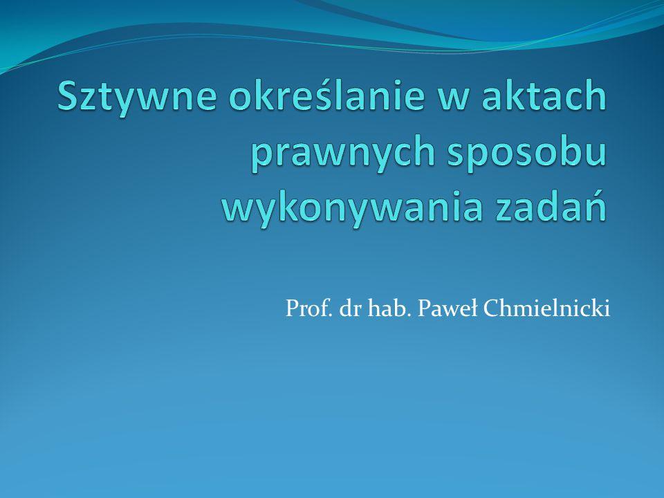 Prof. dr hab. Paweł Chmielnicki