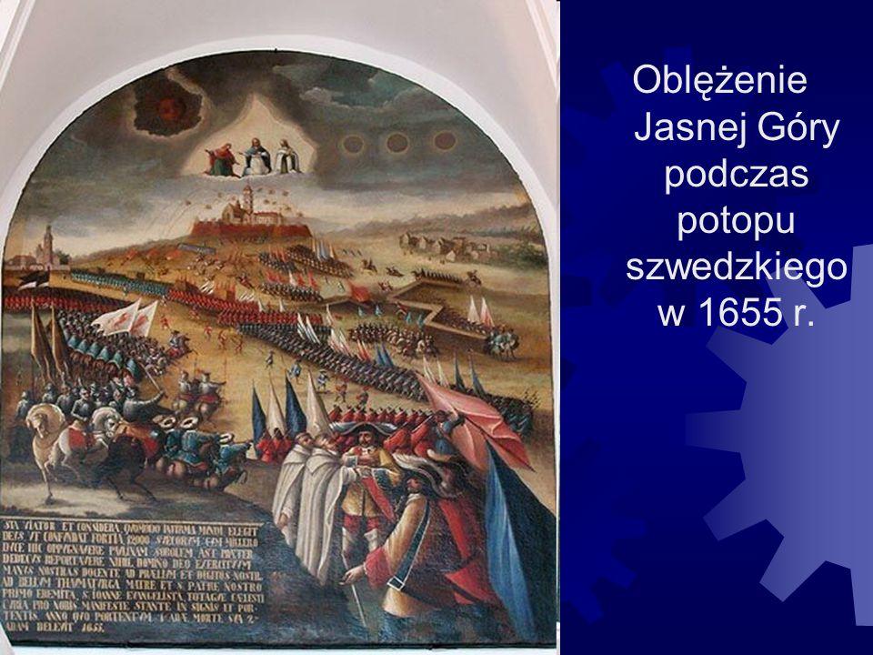 Oblężenie Jasnej Góry podczas potopu szwedzkiego w 1655 r.