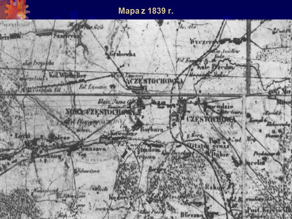 Mapa z 1839 r.