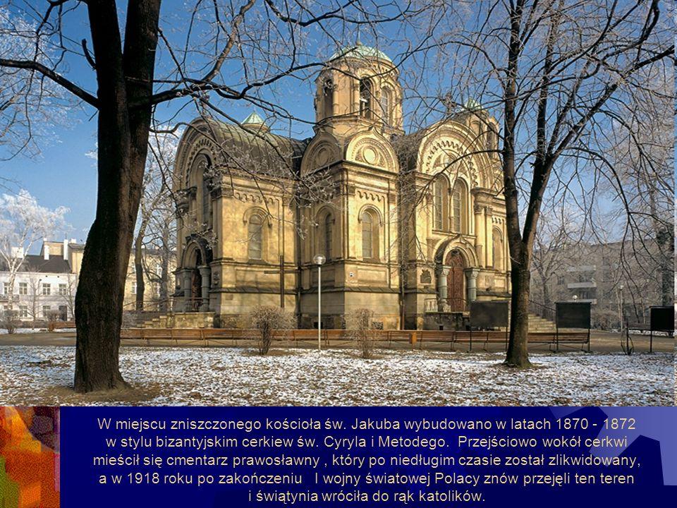 W miejscu zniszczonego kościoła św.