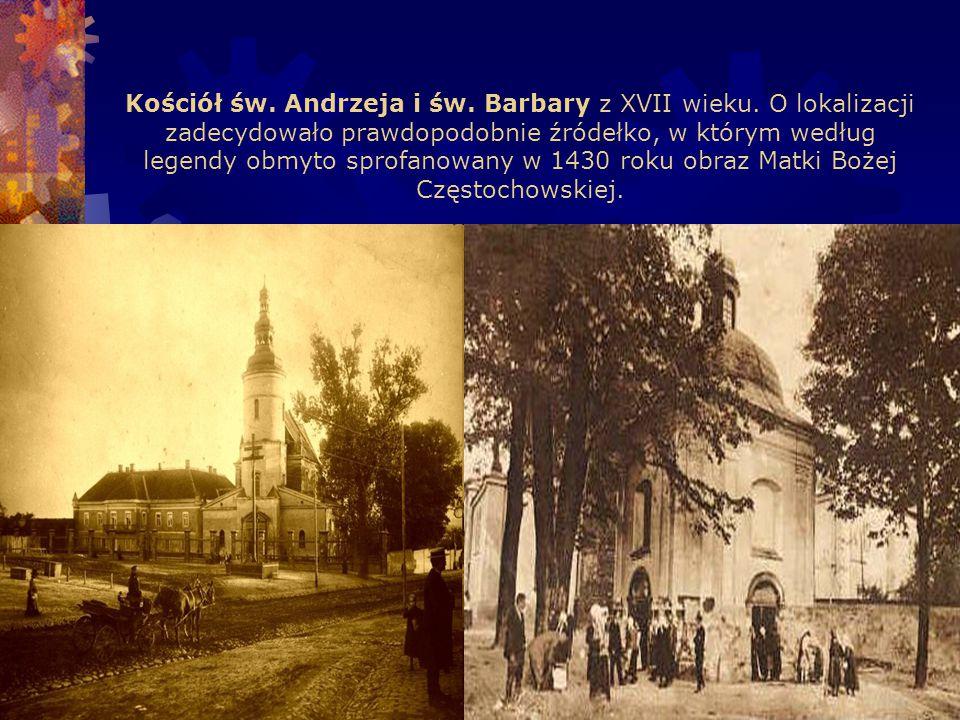 Kościół św. Andrzeja i św. Barbary z XVII wieku.