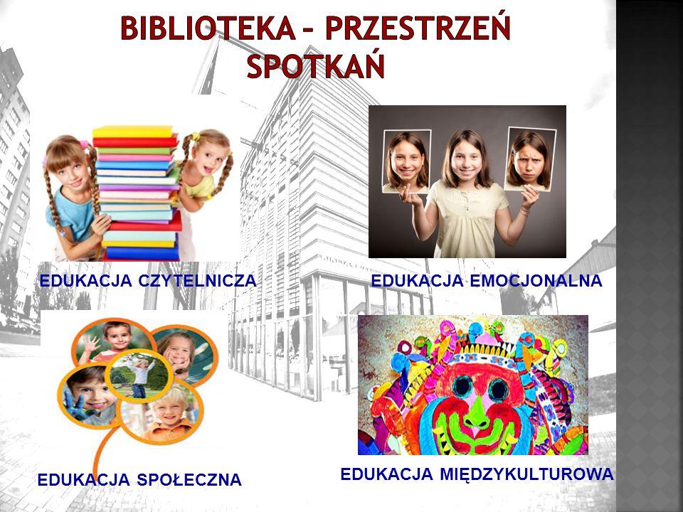 EDUKACJA CZYTELNICZAEDUKACJA EMOCJONALNA EDUKACJA MIĘDZYKULTUROWA EDUKACJA SPOŁECZNA