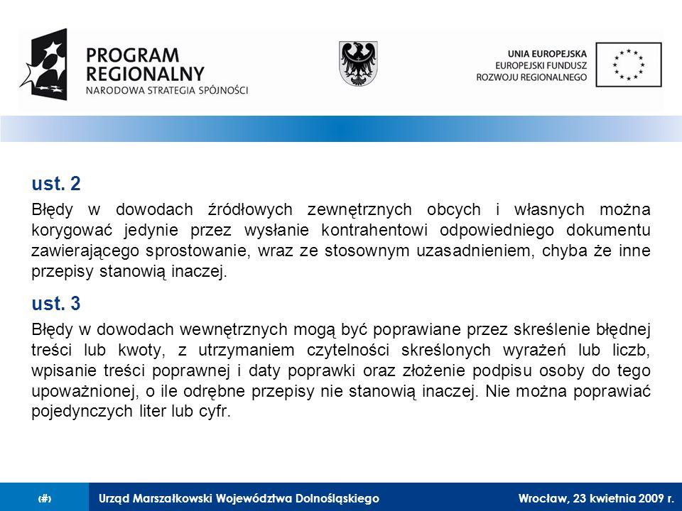 Urząd Marszałkowski Województwa Dolnośląskiego27 lutego 2008 r.24 ust.