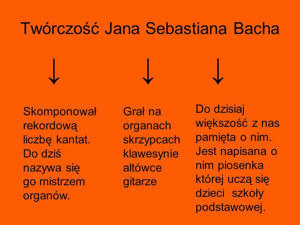 Największe dzieła Bacha Toccata i fuga D-dur.Preludium C-dur.