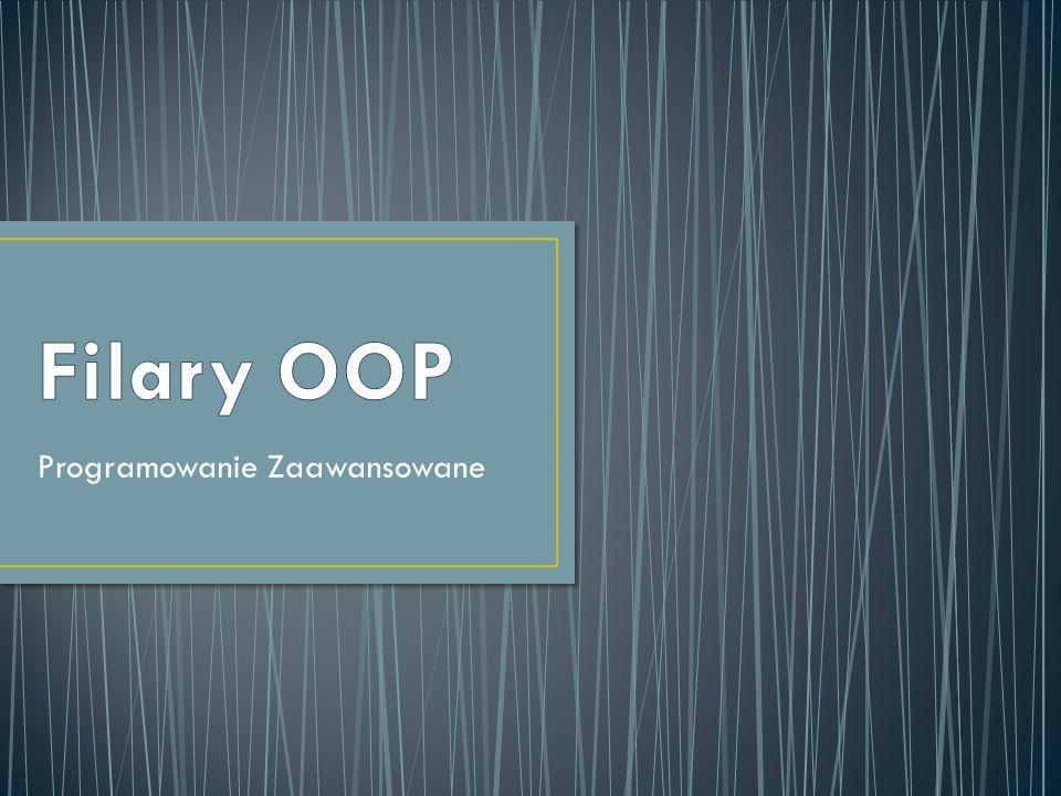 Bartosz Talma: - Na czym polega OOP i jakie są jego trzy podstawowe filary.