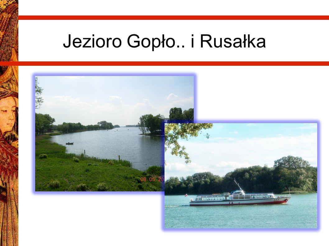 Jezioro Gopło.. i Rusałka