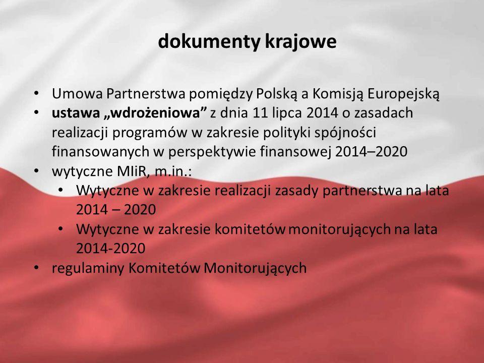 przykład: skład Komitetu Monitorującego art.5 i art.