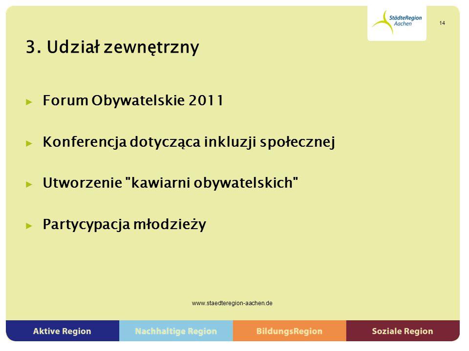 3. Udział zewnętrzny ▶ Forum Obywatelskie 2011 ▶ Konferencja dotycząca inkluzji społecznej ▶ Utworzenie