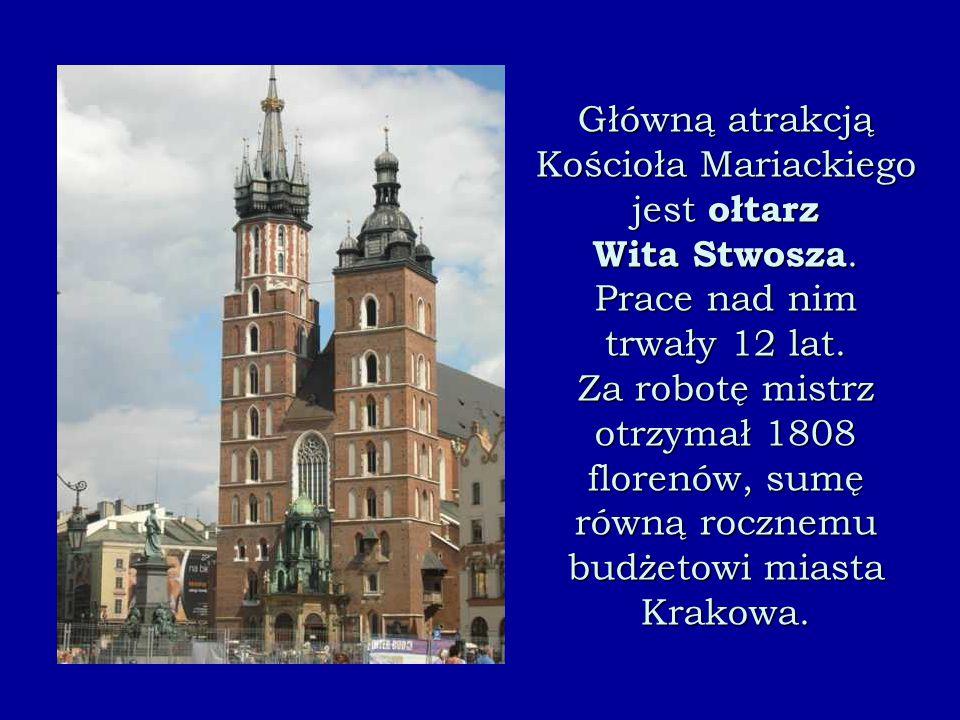 Ołtarz Wita Stwosza w Krakowie – ołtarz Zaśnięcia Najświętszej Maryi Panny, wykonany w latach 1477-1489 przez przybyłego z Norymbergii rzeźbiarza Wita Stwosza.