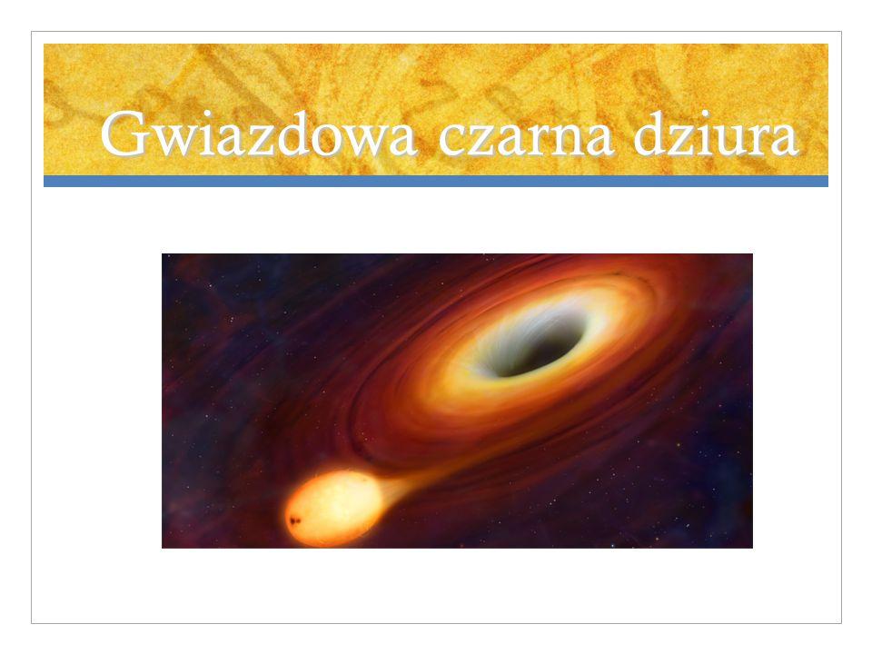 Gwiazdowa czarna dziura
