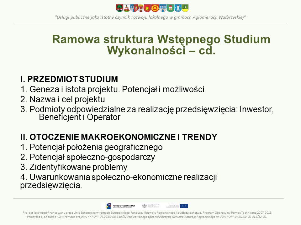 Usługi publiczne jako istotny czynnik rozwoju lokalnego w gminach Aglomeracji Wałbrzyskiej I.