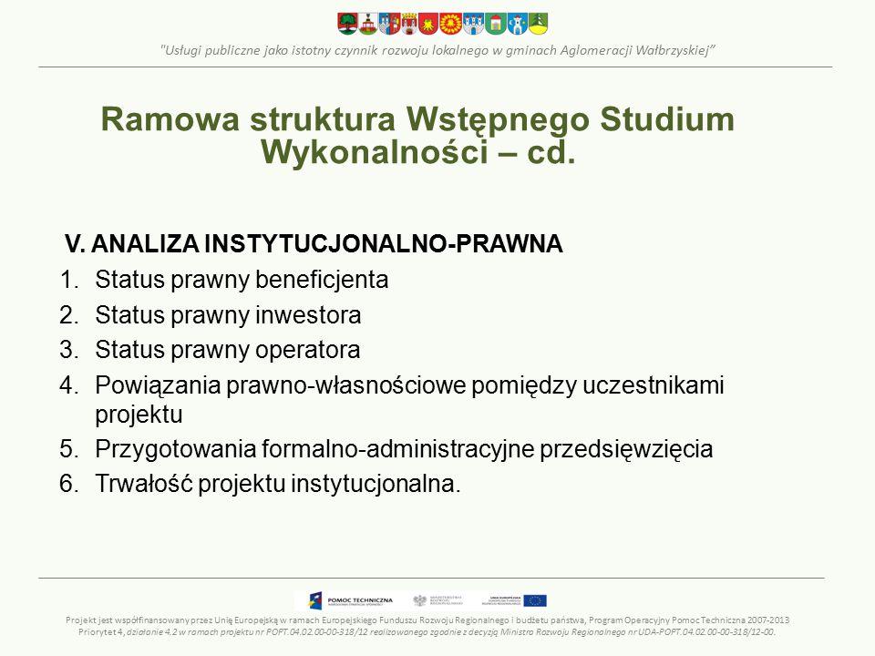 Usługi publiczne jako istotny czynnik rozwoju lokalnego w gminach Aglomeracji Wałbrzyskiej V.