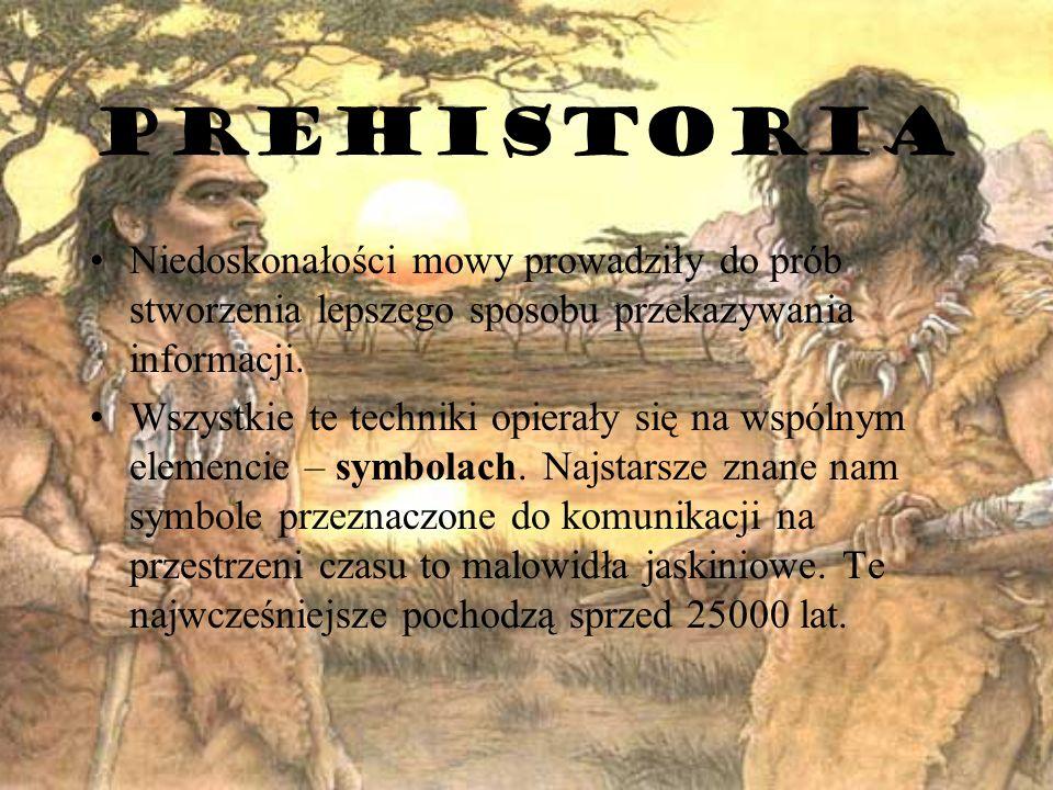 Źródła http://histmag.org/Komunikacja-od-mowy-do-Internetu-744 http://nazwaserwisu.pl/wp-content/uploads/2013/05/Portale-spolecznosciowe-dlaczego-z-nich-korzystamy-108634-900x900.jpg http://pl.wikipedia.org/wiki/Historia_Internetu http://www.globalityk.pl/wp-content/uploads/2012/12/internet.jpg http://www.senior.pl/Telewizja-wciaz-ma-sie-dobrze-choc-ogladamy-ja-inaczej_img5068c6165a504.jpg http://telewizor.eu/telewizja.html http://pl.wikipedia.org/wiki/Komputer http://www.radio66.com.pl/historia-radia/ http://i.wp.pl/a/f/jpeg/28418/pismo_klinowe_en_magazyn.jpeg http://i.wp.pl/a/f/jpeg/24592/listy_ap_550.jpeg http://www.mkgajwer.jgora.net/History/usa/house.jpg http://img.interia.pl/biznes/nimg/u/t/Szeleszczace_gazety_nigdy_5939549.jpg http://i.wp.pl/a/f/jpeg/22887/640pismo.jpeg http://www.ksiegapozycjonera.pl/wp-content/uploads/2011/11/ssl.jpg http://lajt.onet.pl/encyklopedia/67995,haslo.html http://pl.wikipedia.org/wiki/Pismo_ideograficzne http://upload.wikimedia.org/wikipedia/commons/thumb/b/b5/Alfabet_roślin_-_okładka.jpg/500px-Alfabet_roślin_-_okładka.jpg https://www.google.pl/search?q=znaki+dymne&client=opera&hs=lmE&source=lnms&tbm=isch&sa=X&ei=WI2EUpXvC-GR4ASy- oHYBw&ved=0CAkQ_AUoAQ&biw=1280&bih=862#q=petroglify&tbm=isch&imgdii=_https://www.google.pl/search?q=znaki+dymne&client=opera&hs=lmE&source=lnms&tbm=isch&sa=X&ei=WI2EUpXvC-GR4ASy- oHYBw&ved=0CAkQ_AUoAQ&biw=1280&bih=862#q=petroglify&tbm=isch&imgdii=_ http://pl.wikipedia.org/wiki/Petroglify http://lifementor.pl/wp-content/uploads/2011/10/komunikacja-międzyludzka.jpg http://nowaera2013.files.wordpress.com/2011/06/kalendarz_majw_piktogram_507.jpg http://img.national-geographic.pl/uploads/pics/shutterstock_3360028.jpg http://pl.wikipedia.org/wiki/Hieroglify http://blogi.newsweek.pl/wp-content/uploads/2010g/69089dd1-02cf-4ed3-85bf-82c3dd688805_20100303061445_Komunikacja.jpg