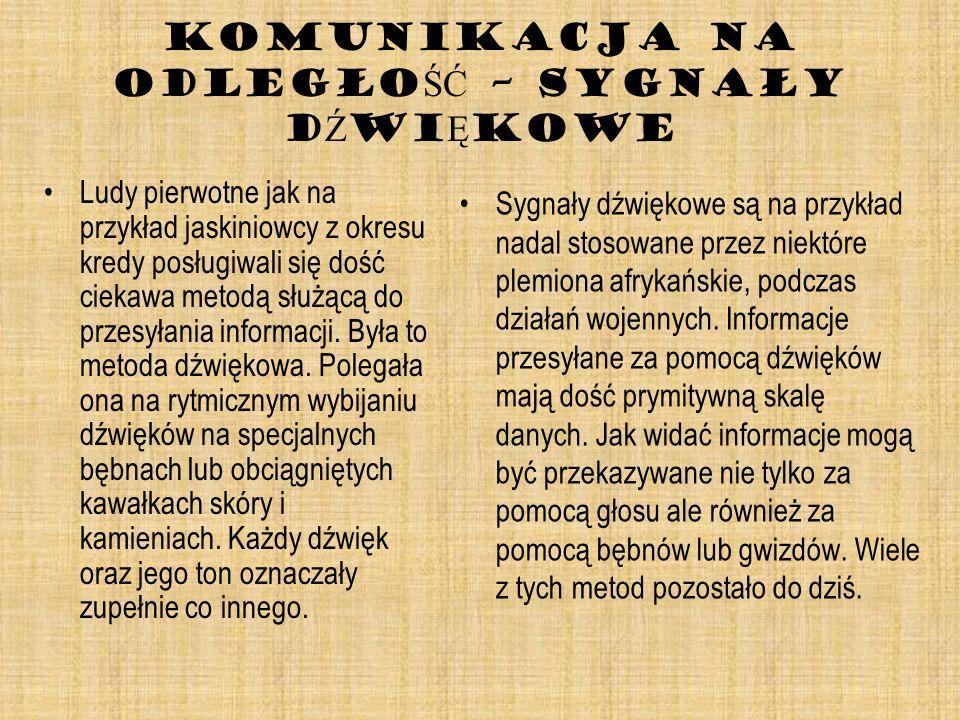 PISMO - POCZ Ą TKI Symbole były prekursorem kolejnego wielkiego wynalazku – pisma.