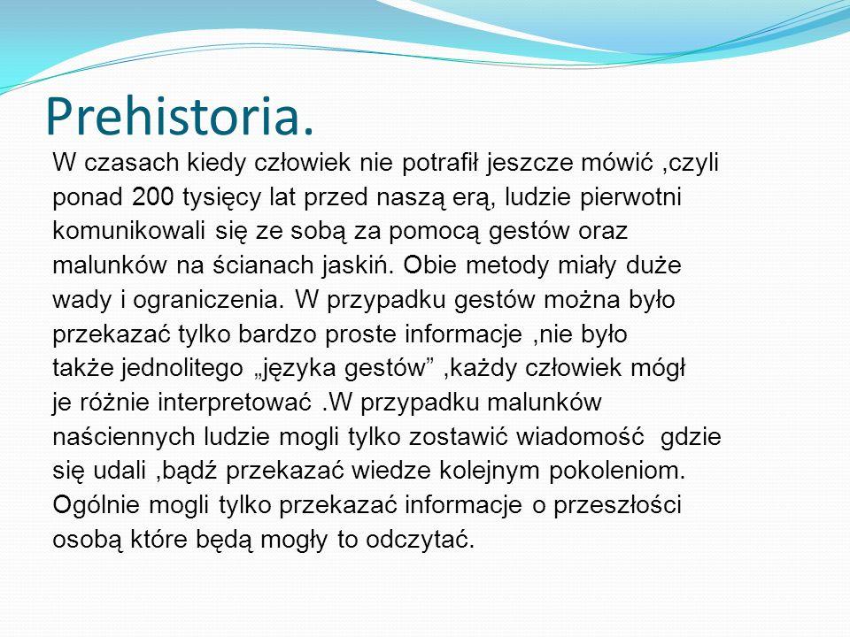 Prehistoria.