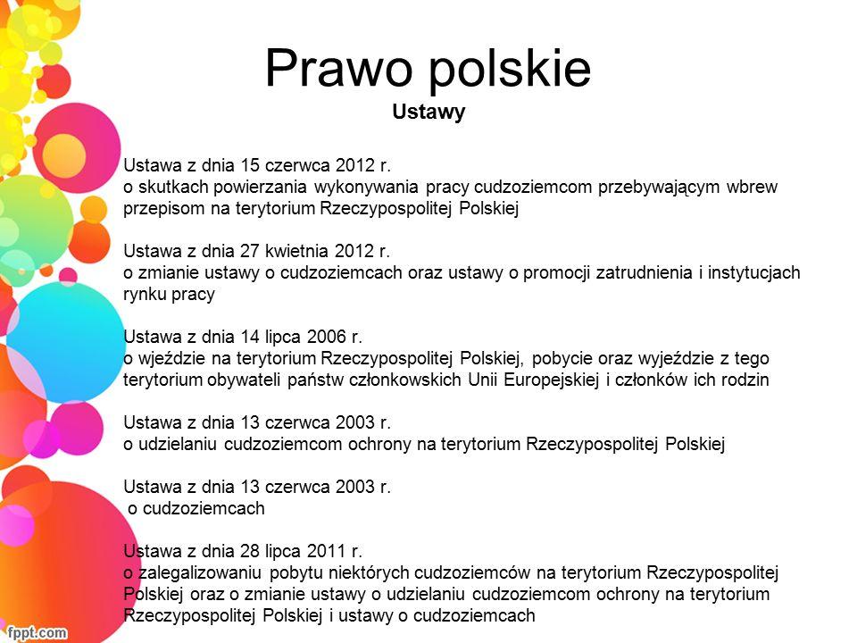 Prawo polskie Rozporządzenia Rozp.MSW z dnia 29 czerwca 2012 r.