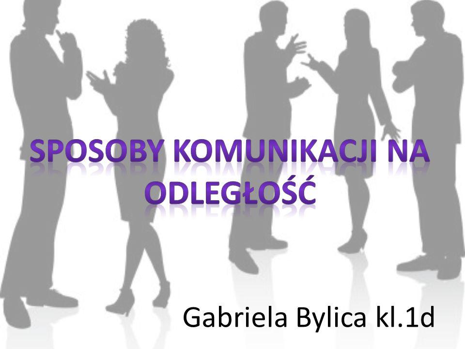 Gabriela Bylica kl.1d