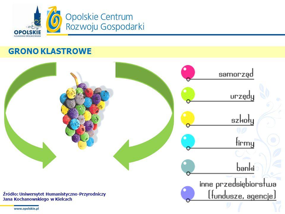 GRONO KLASTROWE Źródło: Uniwersytet Humanistyczno-Przyrodniczy Jana Kochanowskiego w Kielcach