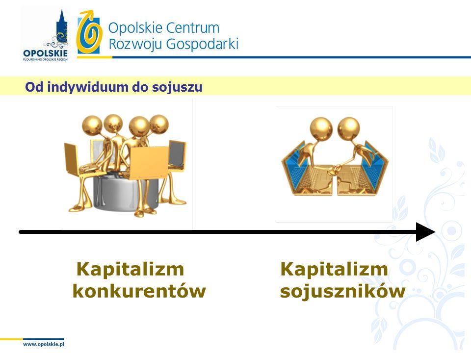 Od indywiduum do sojuszu m kapitalizm Kapitalizm sojuszników Kapitalizm konkurentów