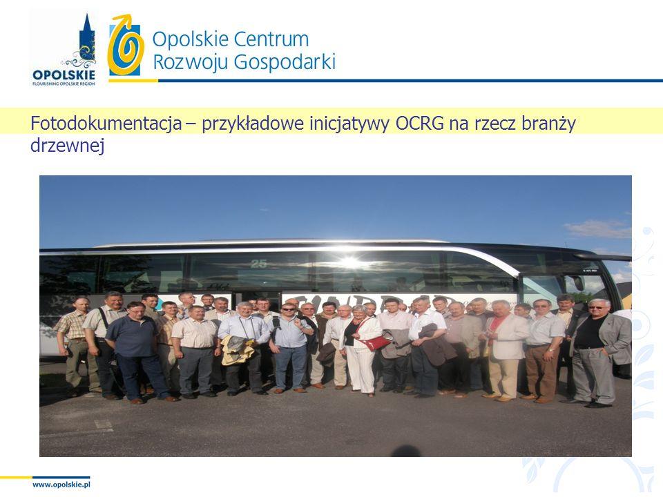 Fotodokumentacja – przykładowe inicjatywy OCRG na rzecz branży drzewnej
