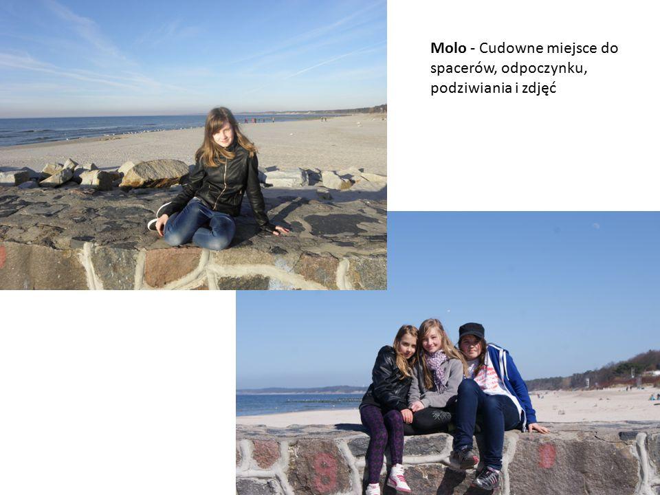 Molo - Cudowne miejsce do spacerów, odpoczynku, podziwiania i zdjęć
