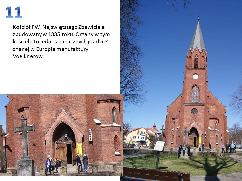 Kościół PW. Najświętszego Zbawiciela zbudowany w 1885 roku.
