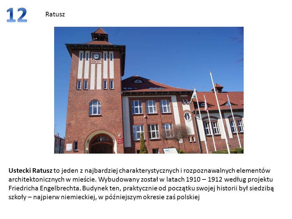 Ratusz Ustecki Ratusz to jeden z najbardziej charakterystycznych i rozpoznawalnych elementów architektonicznych w mieście.
